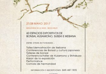 Fin de curso de la Escuela de Bonsai Xavier Redón